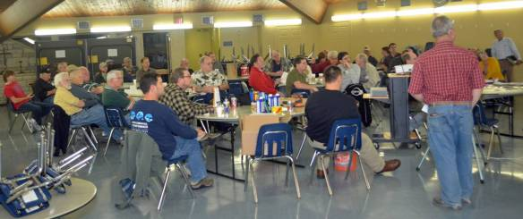 A packed house at our last guild meeting