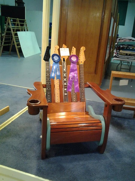 The guitar chair