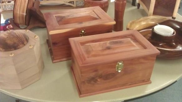 Cedar boxes